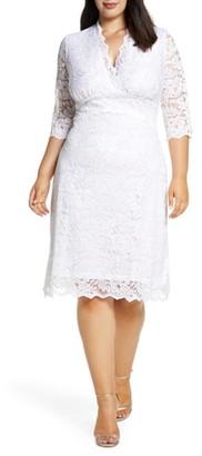 Kiyonna Lace Cocktail Dress
