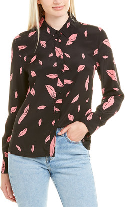 Diane von Furstenberg Samson Silk Shirt