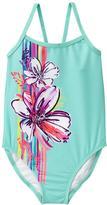 Gymboree Floral 1-Piece Swimsuit