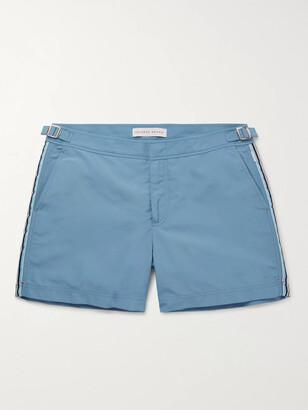 Orlebar Brown Setter Mid-Length Webbing-Trimmed Swim Shorts