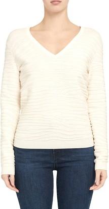 Theory Zebra Stitch Sweater
