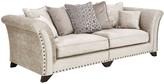 Caprera Fabric 4 Seater Scatter Back Sofa