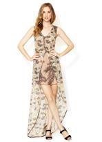 Winter Kate Evania SIlk High Low Dress
