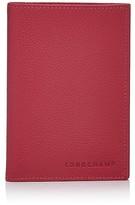 Longchamp Le Foulonne Passport Wallet