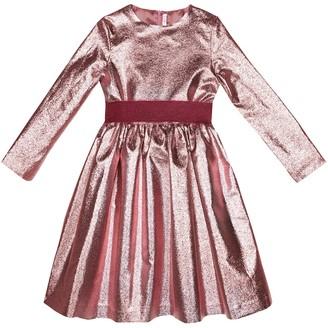 Il Gufo Metallic dress