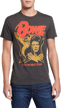 Chaser Men's David Bowie Graphic T-Shirt