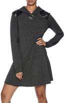 Splendid Hooded Sweatshirt Dress