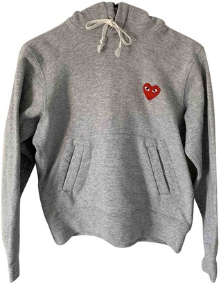 Comme des Garcons Grey Cotton Knitwear for Women