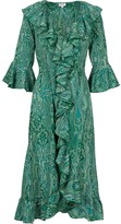 At Last... Felicity Dress- Green Ripple