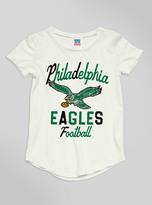 Junk Food Clothing Kids Girls Nfl Philadelphia Eagles Tee-sugar-s
