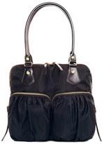 M Z Wallace 'Jane' Bedford Nylon Handbag - Black