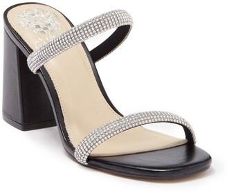 Vince Camuto Magaly Embellished Block Heel Sandal