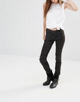 G Star G-Star Lynn Custom Mid Rise Coated Skinny Jeans