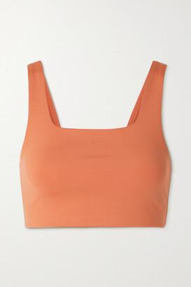 Girlfriend Collective Tommy Stretch Sports Bra - Orange