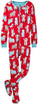 Petit Lem Cross Country Pajama Footie (Toddler & Little Boys)