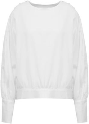 A Line Clothing Romantic White Blouse