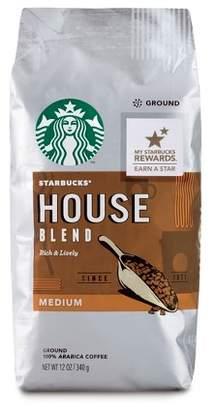 Starbucks House Blend Medium Roast Ground Coffee - 12oz