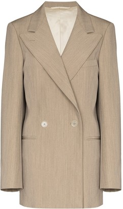 Lemaire Oversize Double-Breasted Blazer