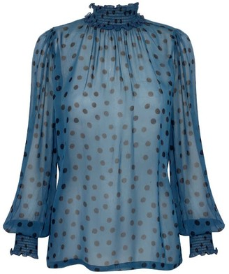 Primrose Park London Tracy Top In Dotty
