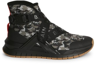Balmain B-Troop High-Top Sneakers