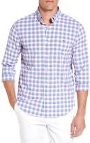 Vineyard Vines Men's East Point Plaid Slim Tucker Performance Sport Shirt