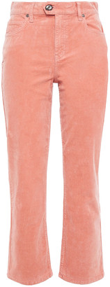 Joie Maza Stretch-cotton Corduroy Kick-flare Pants