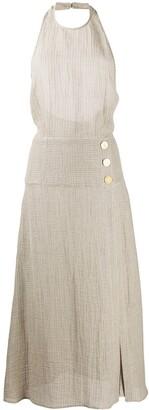 Le Kasha Dairut halterneck dress