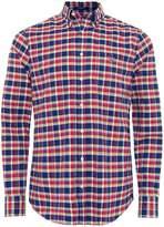 Regular Fit Plaid Oxford Shirt
