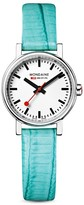 Mondaine Evo Petite Leather Watch, 26mm