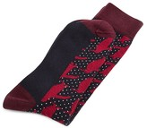 Ted Baker Fabb Spotted Penguin Print Socks