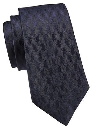 Emporio Armani Jacquard Silk Tie