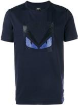 Fendi Crystal Embellished Monster T-Shirt