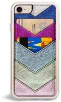 Zero Gravity Chevron Faux Leather Iphone 6/6S/7/8 & 6/6S/7/8 Plus Case - Pink