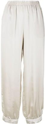 Emporio Armani Cropped Track Pants