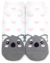 Forever 21 FOREVER 21+ Cute Koala Ankle Socks