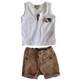 Burberry Shorts and tank top