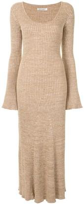 ANNA QUAN Ribbed Knit Dress
