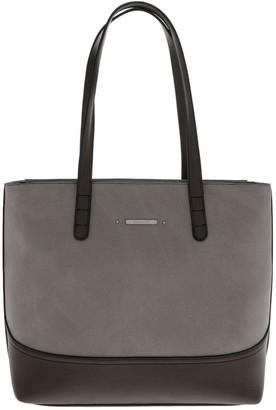 Basque Delia Double Handle Grey Tote Bag