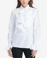 Lauren Ralph Lauren Ruffled Tunic