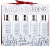 Baylis & Harding Jojoba, Silk & Almond Oil 5 Bottle Set