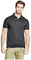 GUESS Men's Walter Two-Pocket Polo