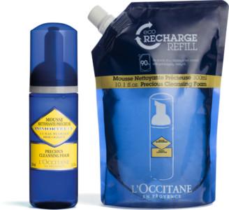 L'Occitane Precious Cleansing Foam Refill Duo