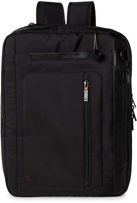 Black Explicit Laptop Convertible Backpack