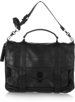Proenza Schouler The Ps1 Large Leather Satchel - Black