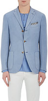 Boglioli Men's Linen-Blend Jacket