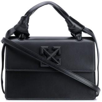 Off-White Jitney 1.4 leather crossbody bag