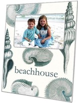 The Well Appointed House Blue Shells Decoupage Photo Frame-Can Be Personalized