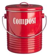 Typhoon Vintage Compost Caddy in Red