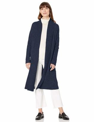 Amazon Essentials Women's Sweater Coat Light Grey Heather