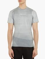 Stone Island Grey Printed Cotton T-Shirt